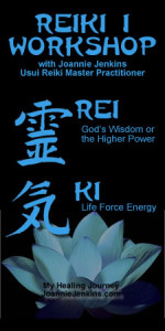 Reiki Workshop Events Page Banner